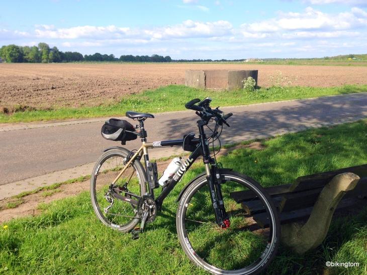 Wo man über den vergangenen Radtag sinnieren kann...