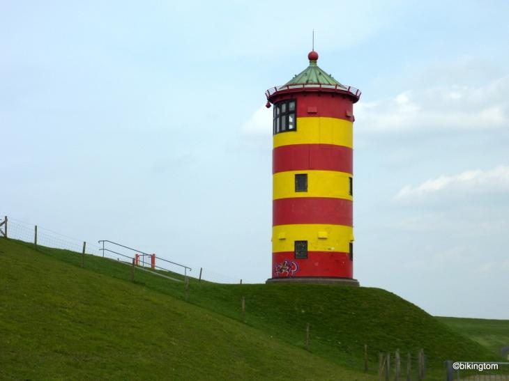Ein Wahrzeichen der Region - der Pilsumer Leuchtturm