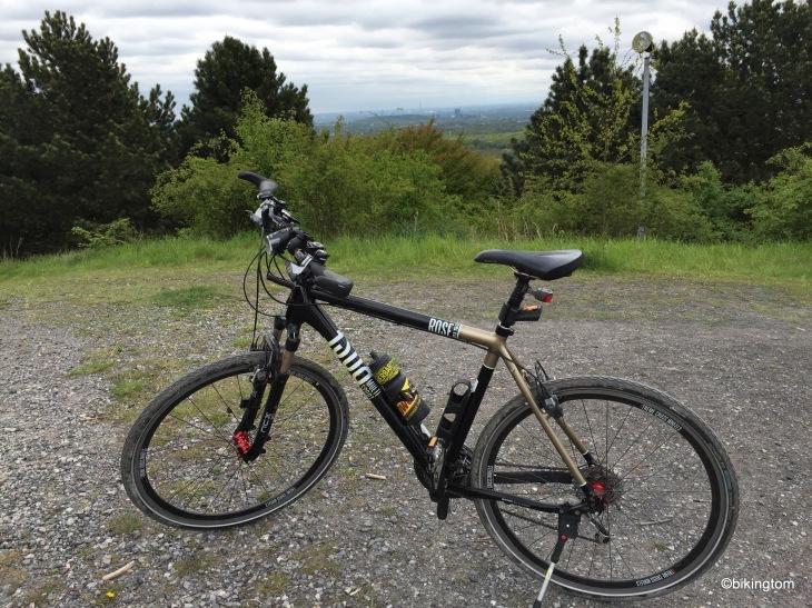 Sitzt wie angegossen - mein Crossbike