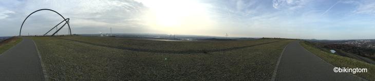 Blick über das Ruhrgebiet