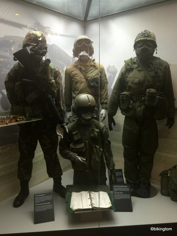 """In der Ausstellung Gedenkstätte """"Point Alpha""""."""