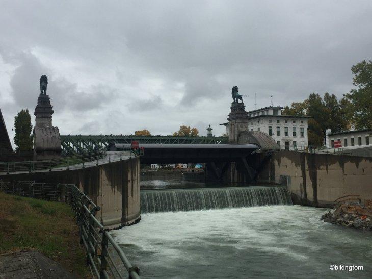 Radtour,Donaukanal,bikingtom,Nußdorf,Österreich