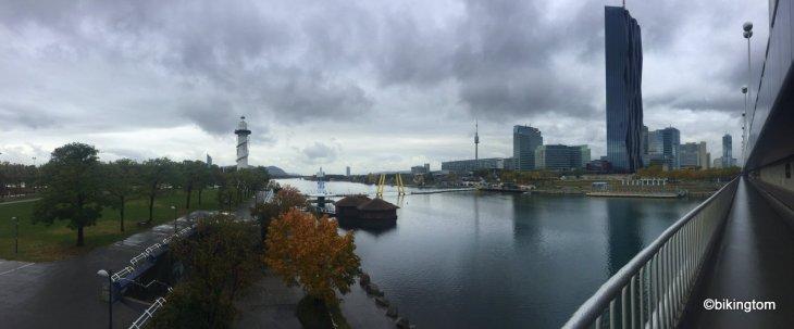 Radtour,Reichsbrücke,Wien,bikingtom,Donau,Donauinsel