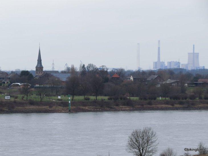 Fahrradtour, bikingtom, Niederrhein, Duisburg